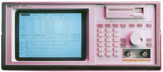HP 1652b Logic Analyzer Manuals and Disks